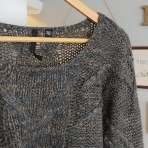 Joe's Jeans cable knit sweater